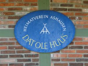 Dat-Ole-Huus-Schild