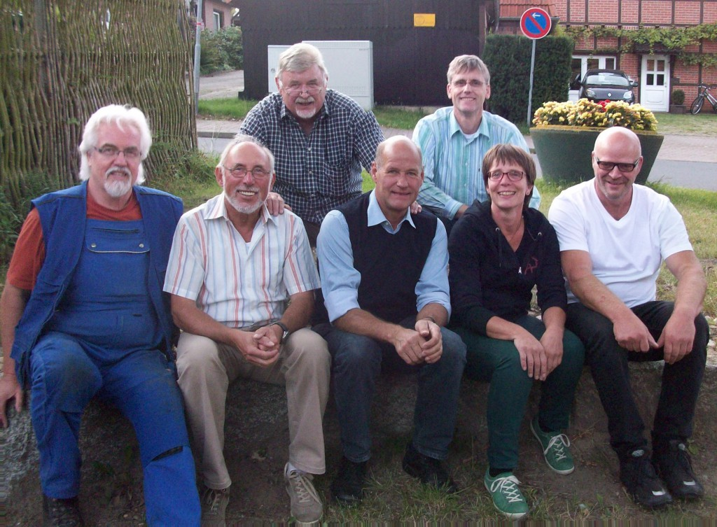 Thomas Götze, Klaus-Dieter Klose, Dietmar Bellmann, Reinhard Behr, Michael Muth, Kati Domroes, Stefan Köhlmoos